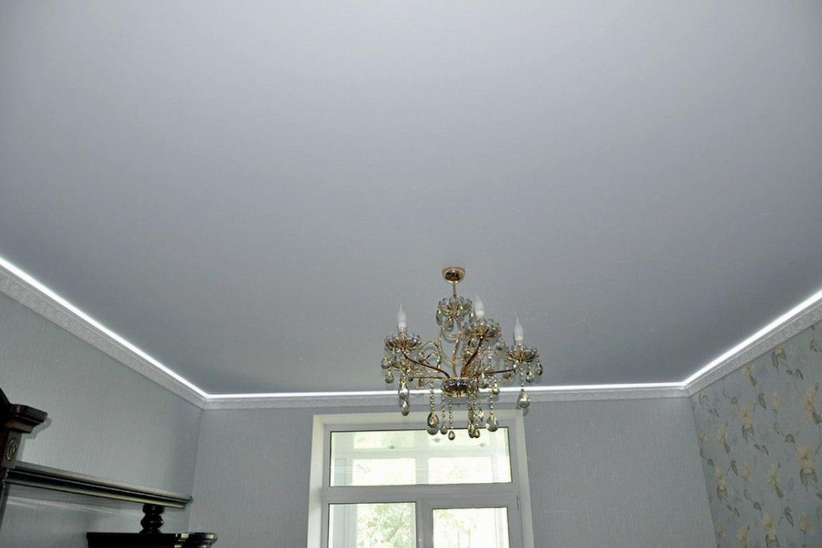простой натяжной потолок картинки ипотеку